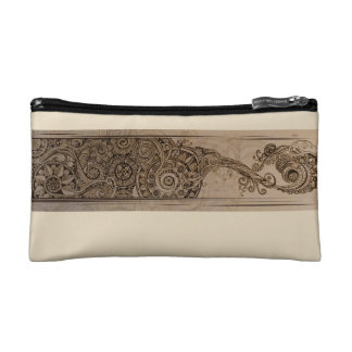 Angry Elephant Banner Makeup Bag
