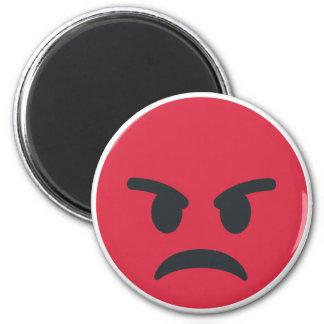 Angry Emoji Magnet