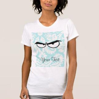 Angry Eyes; Cute T Shirt