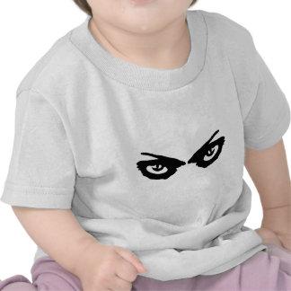 angry eyes icon tshirt