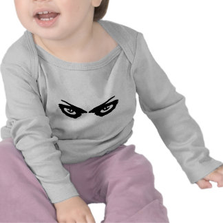 angry eyes icon t-shirts
