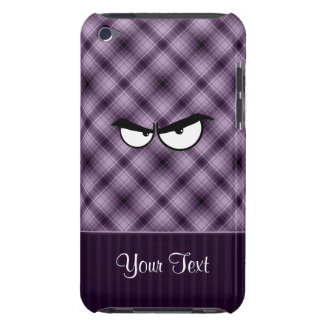Angry Eyes Purple Case-Mate iPod Touch Case