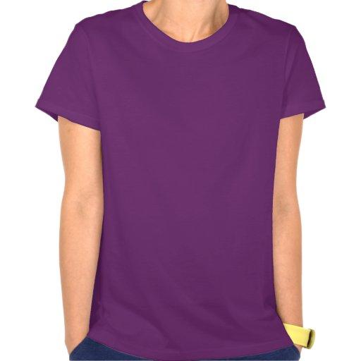 Angry Eyes; Purple T-shirt