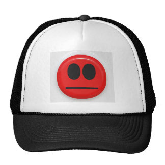 angry face trucker hats