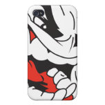 Angry Face iPhone 4 Case