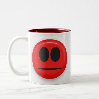 angry face coffee mugs