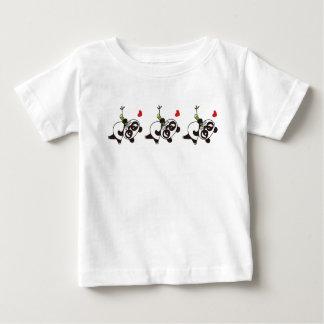 Angry Face Panda 39 Baby T-Shirt