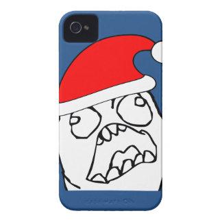 Angry FFFUUU xmas meme iPhone 4 Cover