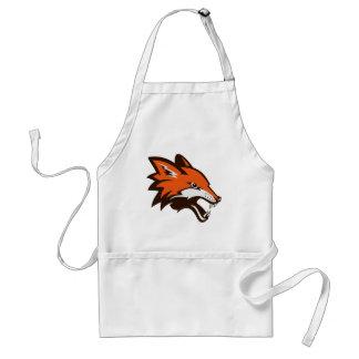Angry fox standard apron
