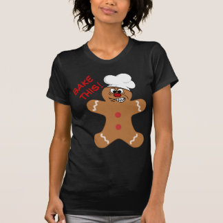 Angry Gingerbread Man Cookie T-Shirt