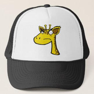 Angry Giraffe Trucker Hat