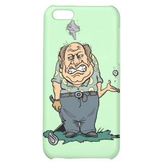 Angry Golfer and Gifts iPhone 5C Cover