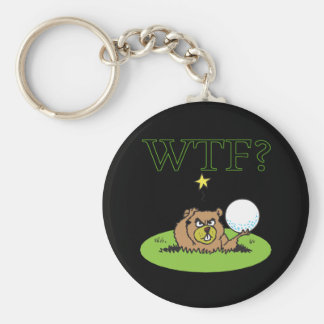 Angry Gopher Key Ring