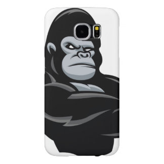 angry  gorilla samsung galaxy s6 cases