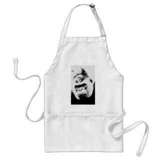 Angry Gorilla Standard Apron