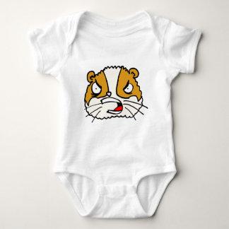Angry Hamster Baby Bodysuit
