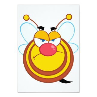 Angry Honey Bee Invitations