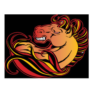 Angry Horse Postcard