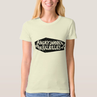 Angry Johnny And The Killbillies Coffin Logo Shirt