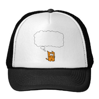 Angry Kitty Thought Bubble Trucker Hat