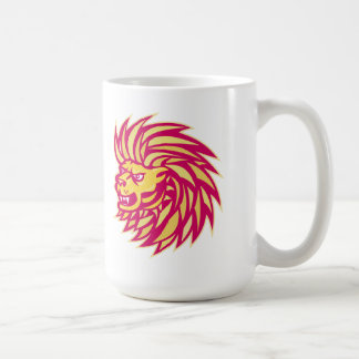 Angry Lion head Mugs