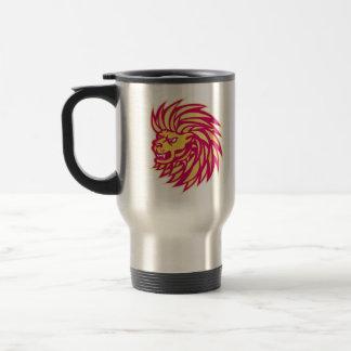 Angry Lion head Coffee Mugs