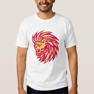 Angry Lion head Shirt