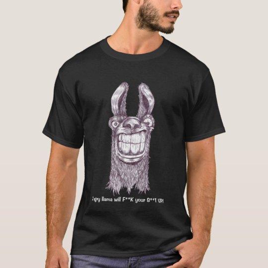 Angry Llama T-Shirt