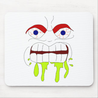 Angry Mad Face Mousepad