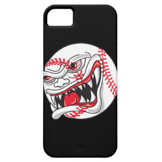 angry mean baseball graphic barely there iPhone 5 case