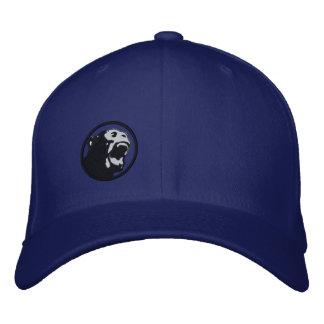 Angry Monkee Hat - BabyBlue/Black