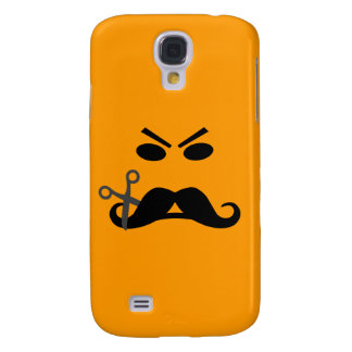 Angry Mustache Smiley custom HTC case