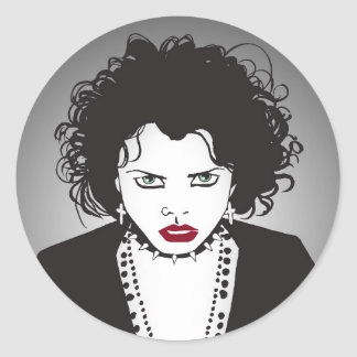 Angry Nancy Classic Round Sticker