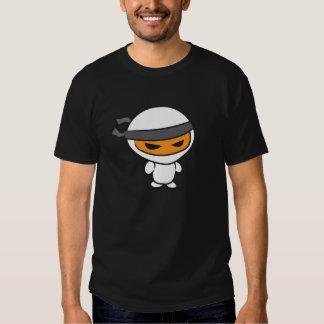 angry ninja dark t shirt