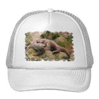 Angry Otter Baseball Hat