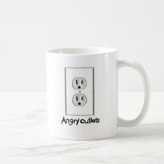 Angry Outlets Mug