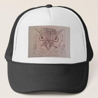 angry owl.jpg trucker hat