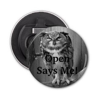 Angry Owl- Open Says Me! Bottle Opener