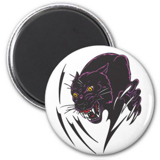 Angry Panther Magnet