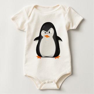 Angry Penguin Baby Bodysuit