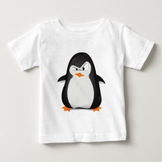 Angry Penguin Baby T-Shirt