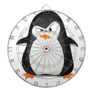 Angry Penguin Dartboard