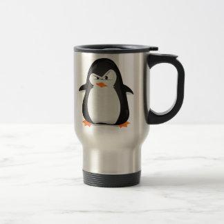Angry Penguin Travel Mug