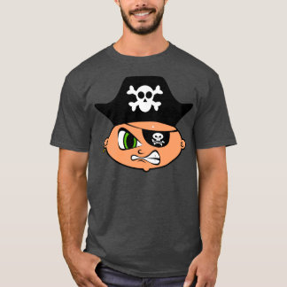 Angry Pirate Face T-shirt