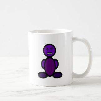 Angry (plain) coffee mug