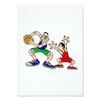 Angry players 13 cm x 18 cm invitation card