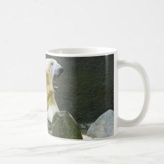 Angry Polar Bear Coffee Mug
