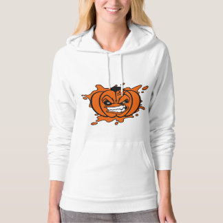 Angry Pumpkin Women's Pullover Hoodie