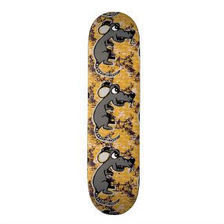 Angry rat custom skate board