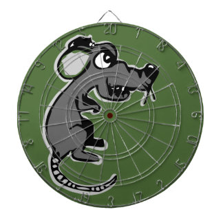 Angry rat dart board